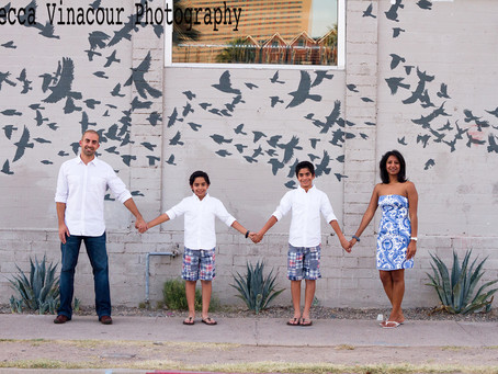 From a fun and stylish shoot I did in downtown Phoenix with the awesome Sareen family.
