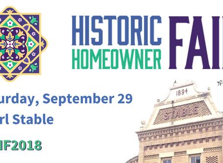 Historic Homeowner Fair