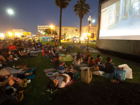 Free Outdoor Movies in San Antonio & Surrounding Areas