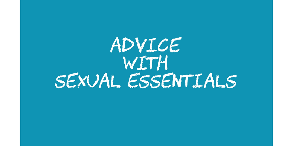 Advice with Sexual Essentials