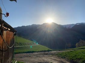 Sonnenaufgang Pez Signina
