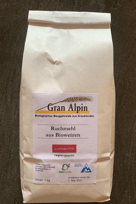 Bio-Weizen Ruchmehl  1kg Sack
