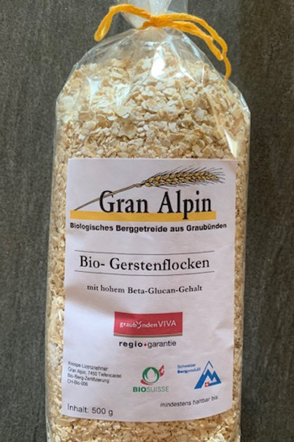 Bio-Gerstenflocken 500g