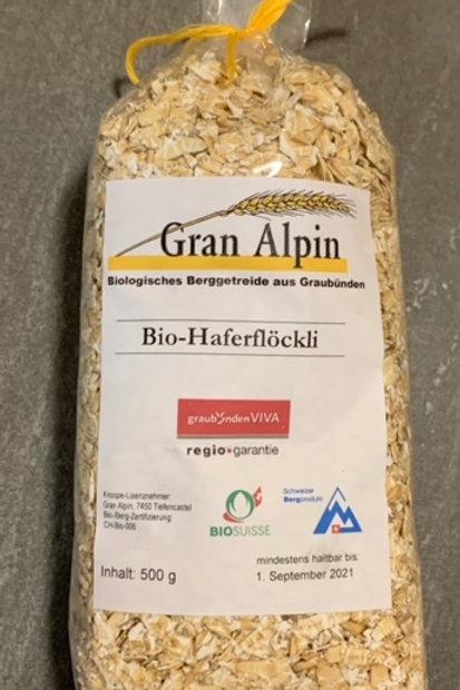 Bio-Haferflocken 500 g