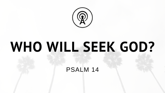 Who will Seek God?