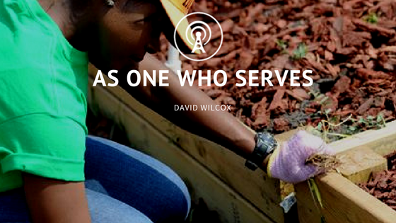 As One Who Serves