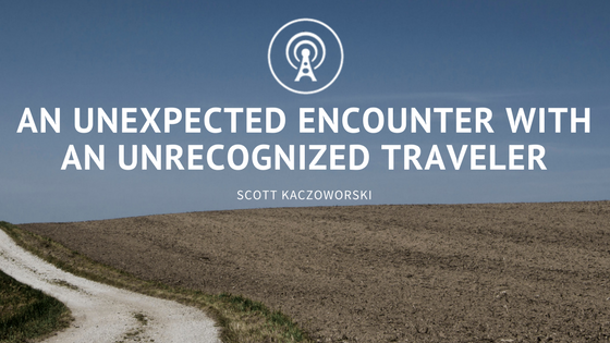 An Unexpected Encounter with an Unrecognized Traveler