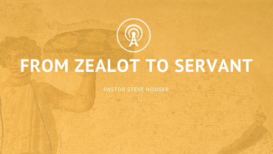 From Zealot to Servant