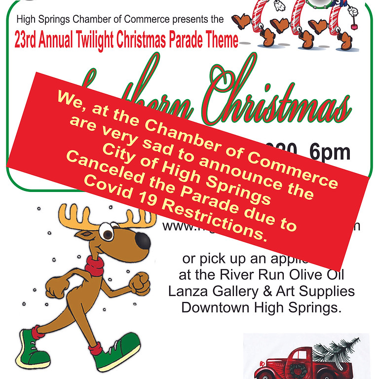 Annual Twilight Christmas Parade Cancelled