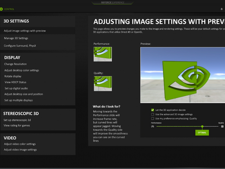 Analysis and Redesign: NVIDIA GeForce Redesign