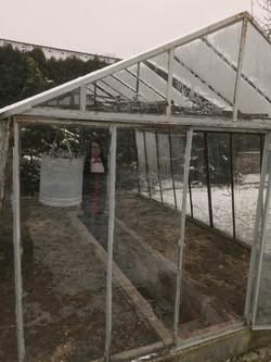 Vectomov inside a greenhouse