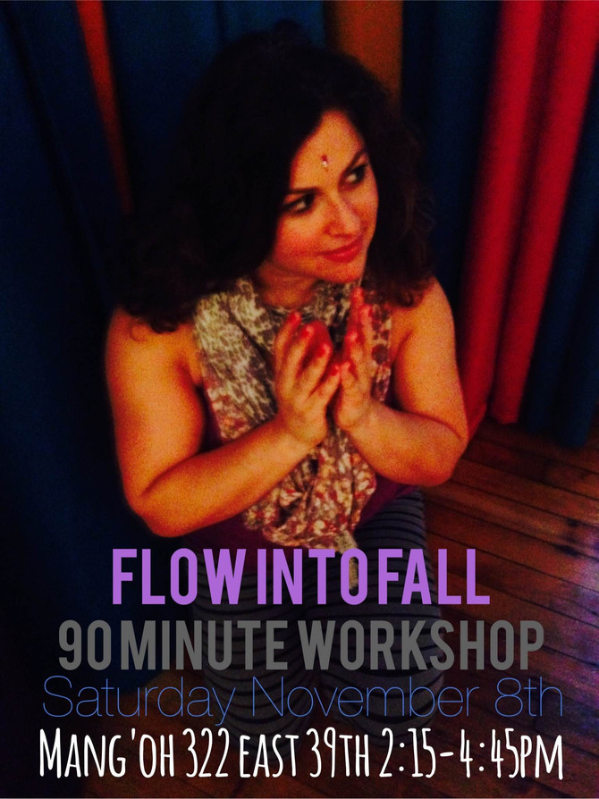 Flow into Fall Workshop
