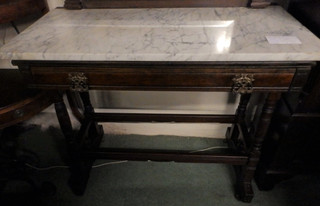 Edwardian library table