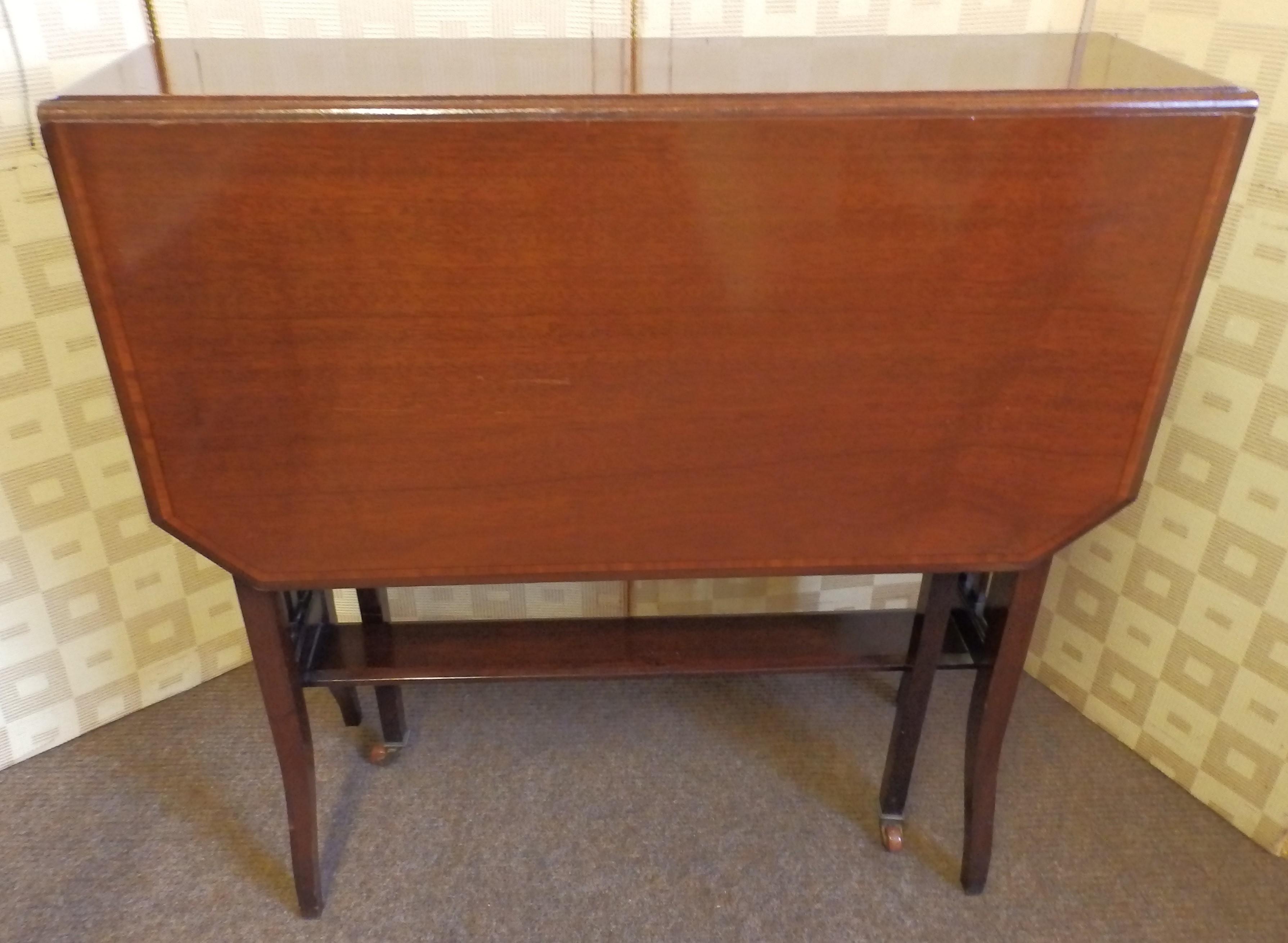 Edwardian sutherland table