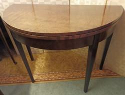 1800s card table
