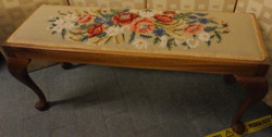Tapestry stool