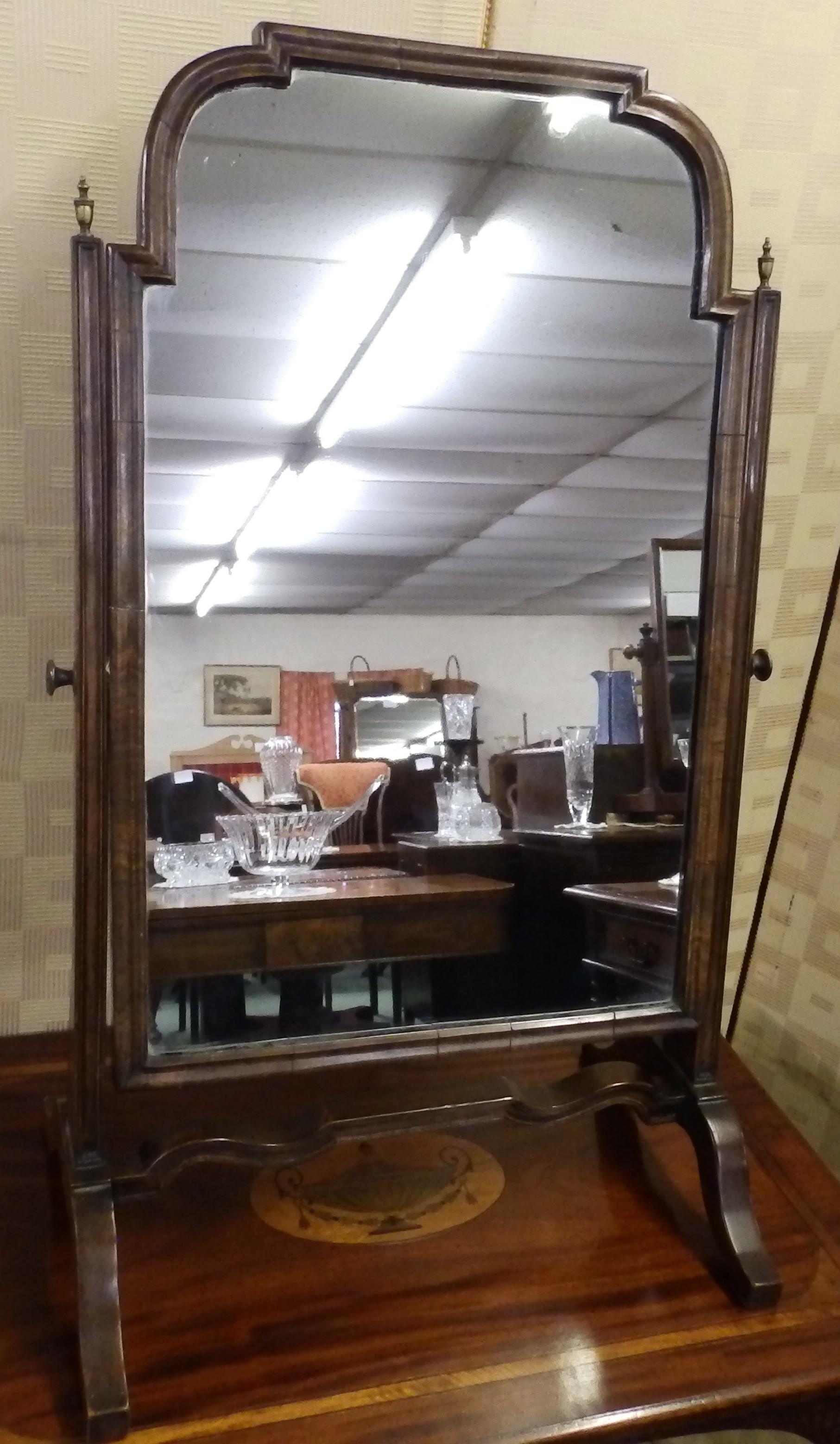 Georgian swing mirror