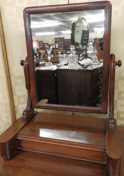 Victorian swing mirror