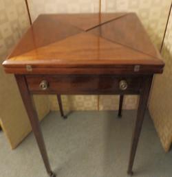 Edwardian card table