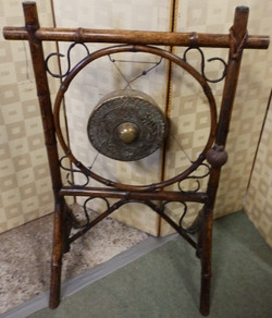 Bamboo&brass gong