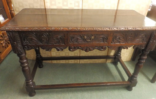 Victorian library table