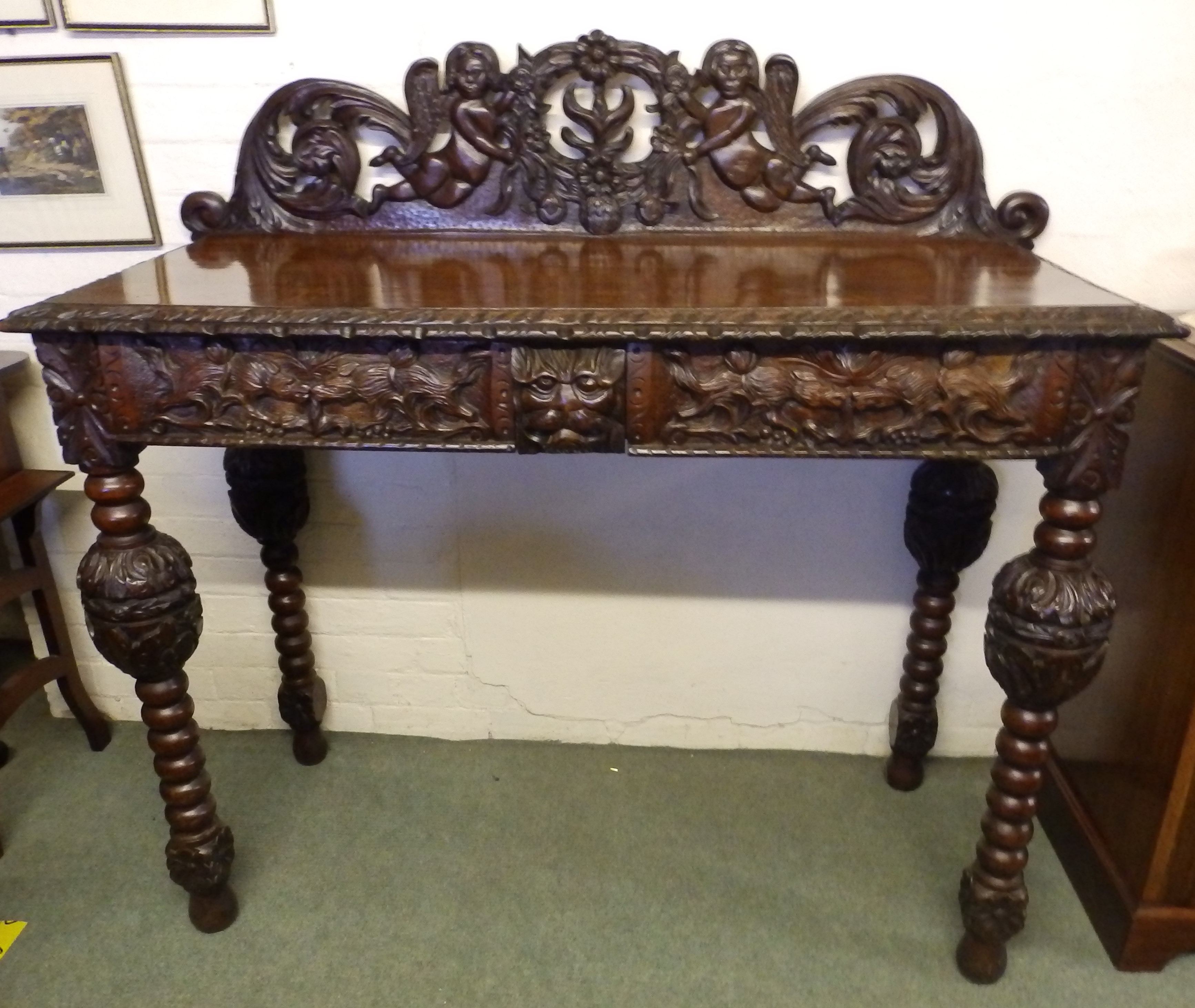 Victorian hall table