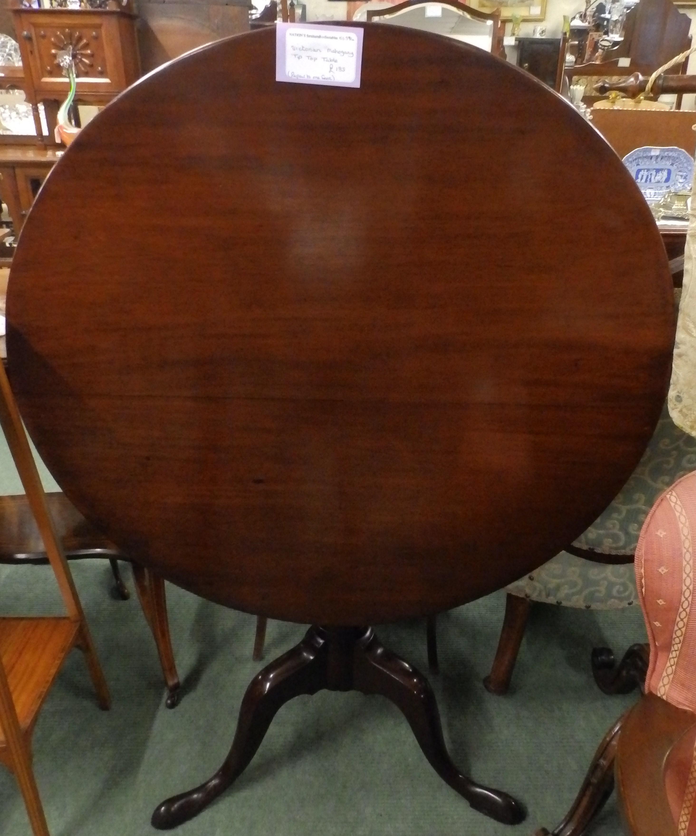 no-594-Victorian tiptop table