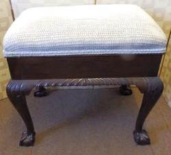 1950s music stool