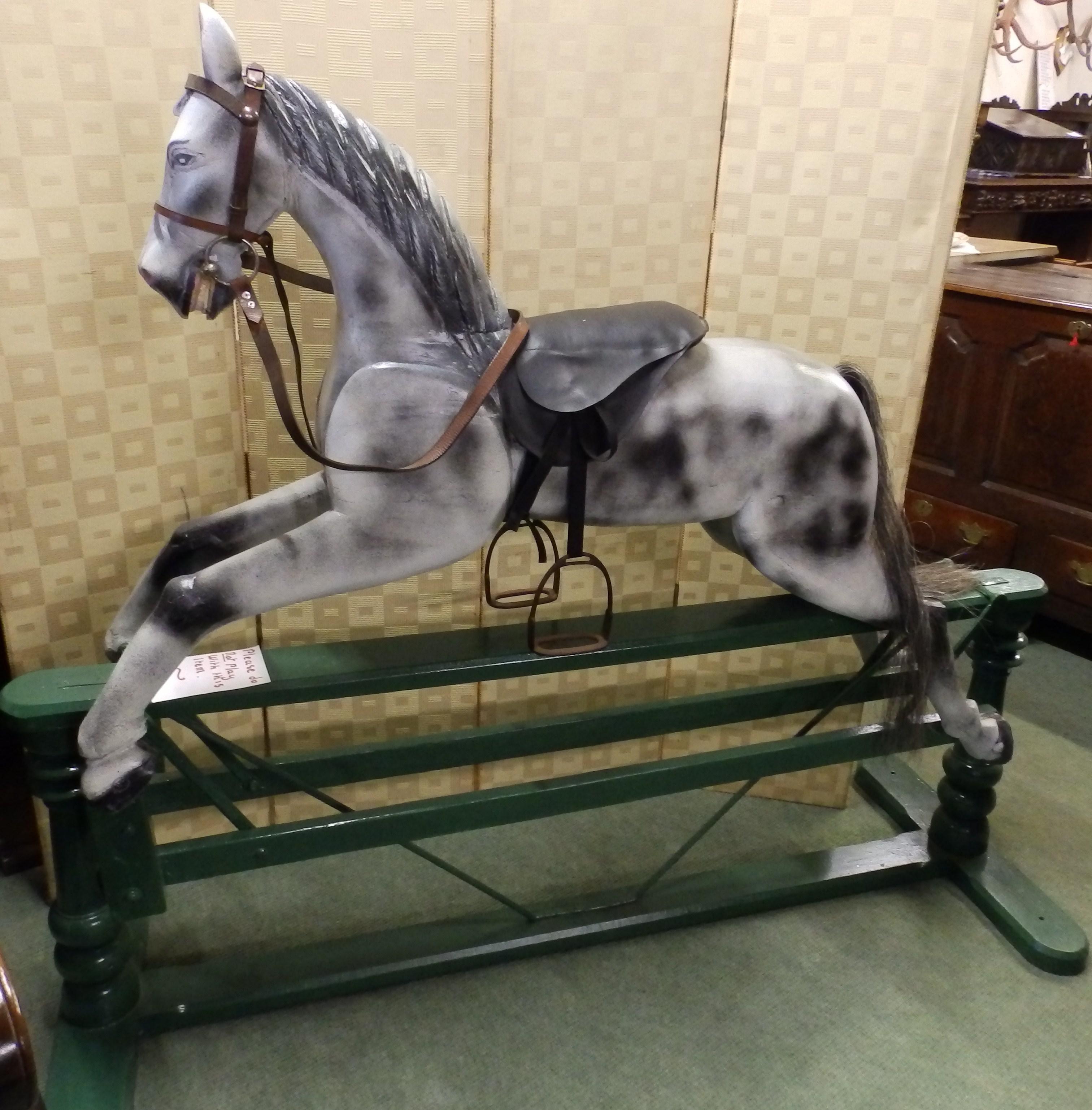 no2 large rocking horse