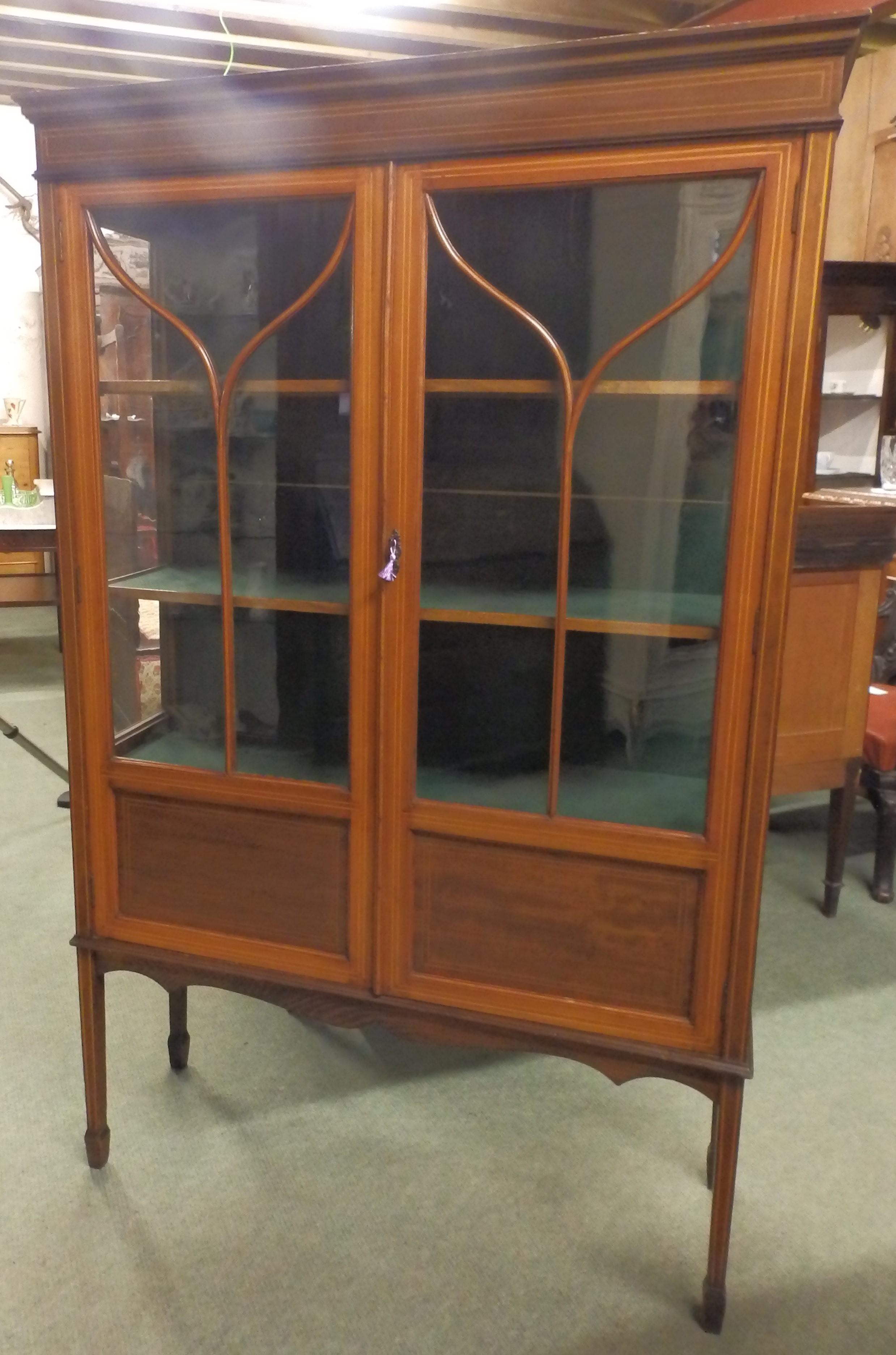 -Edwardian display cabinet