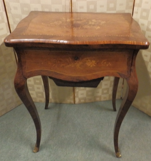 French sewing table