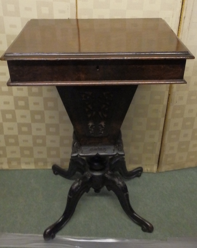 Victorian swing table