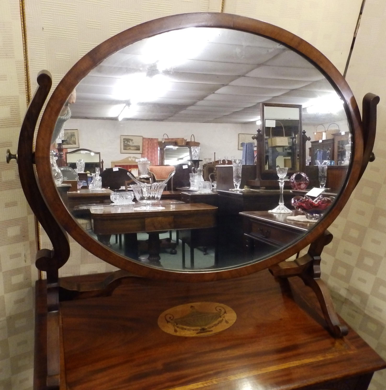 Edwardian swing mirror