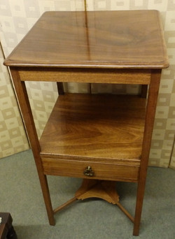 Victorian bed side table