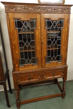 1900s display cabinet