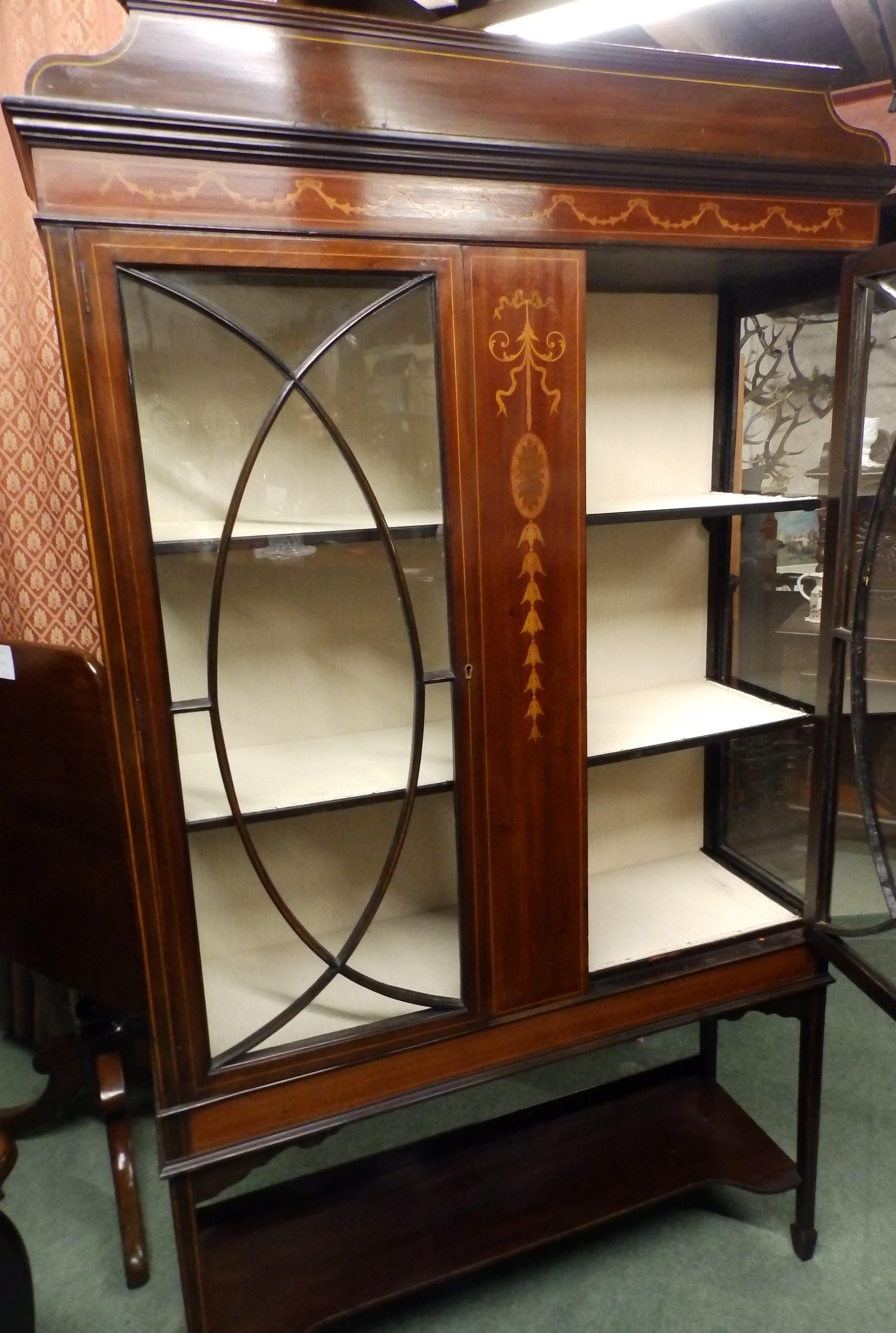 Edwardian music cabinet
