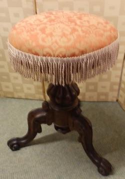 Victorian music stool