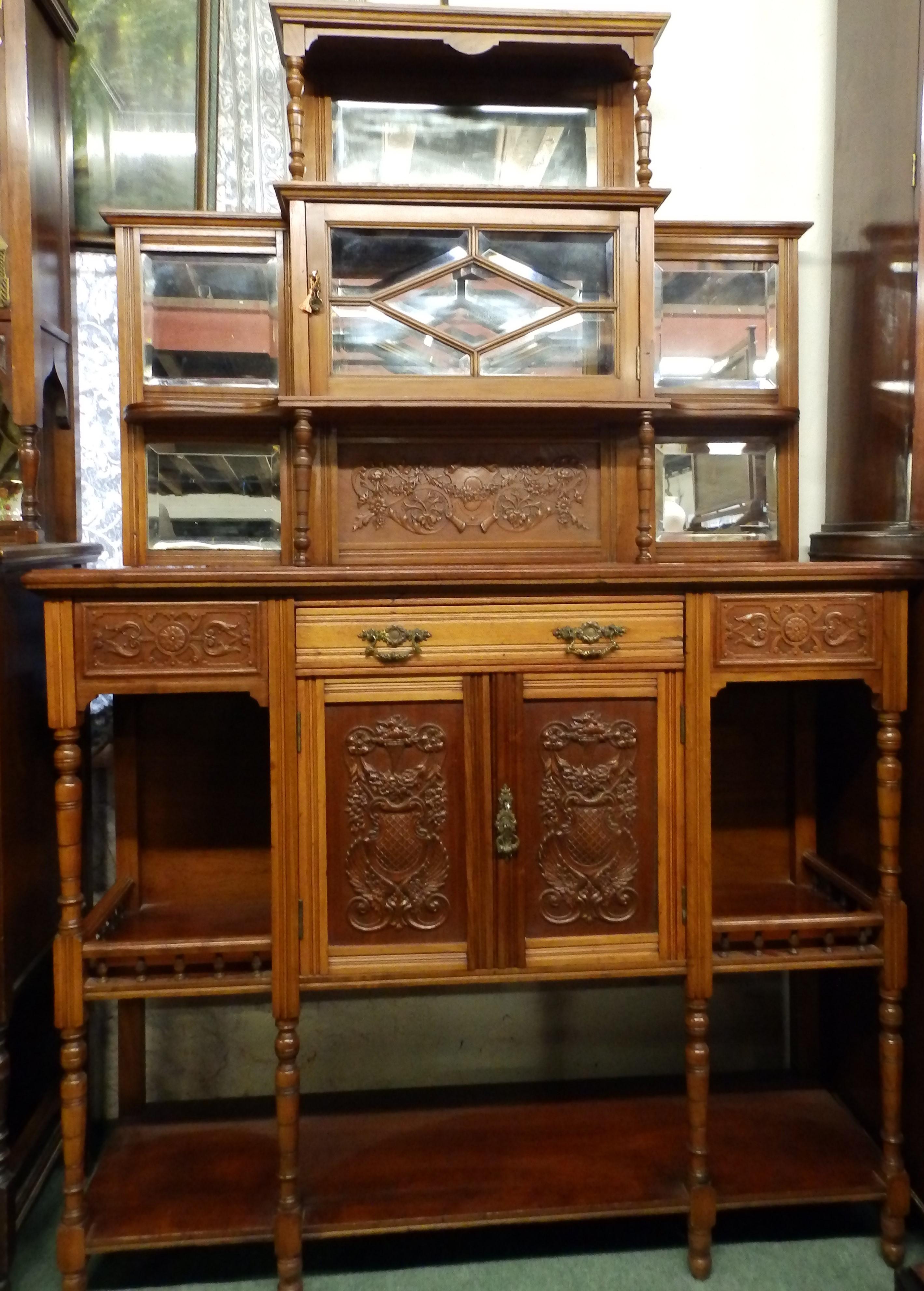 Victorian parlour cabinet
