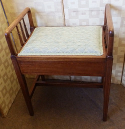 Edwardian music stool