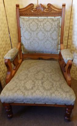 Edwardian arm-chair