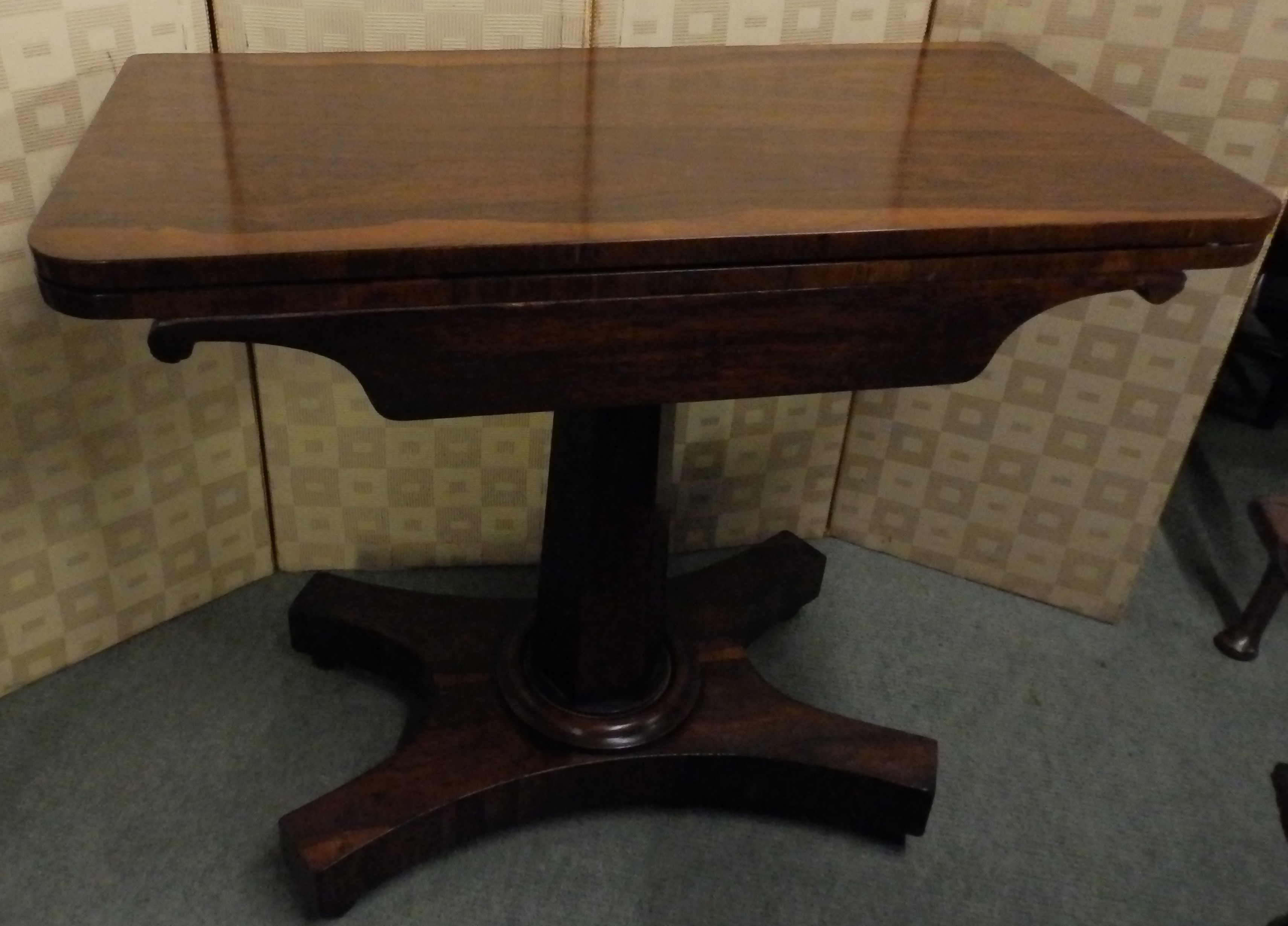 William 1v card table