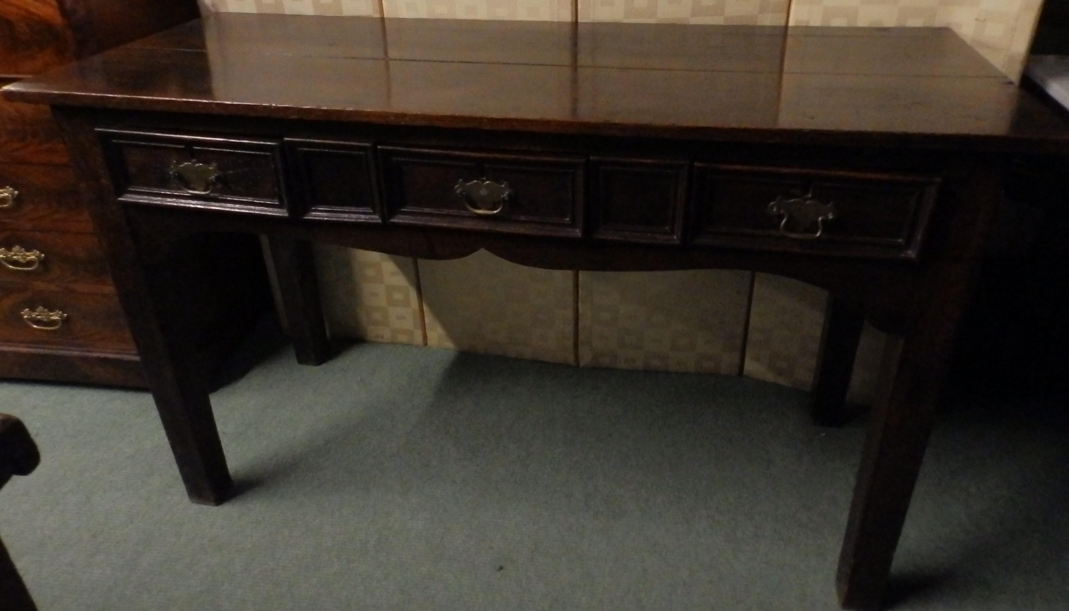 Georgian dresser base
