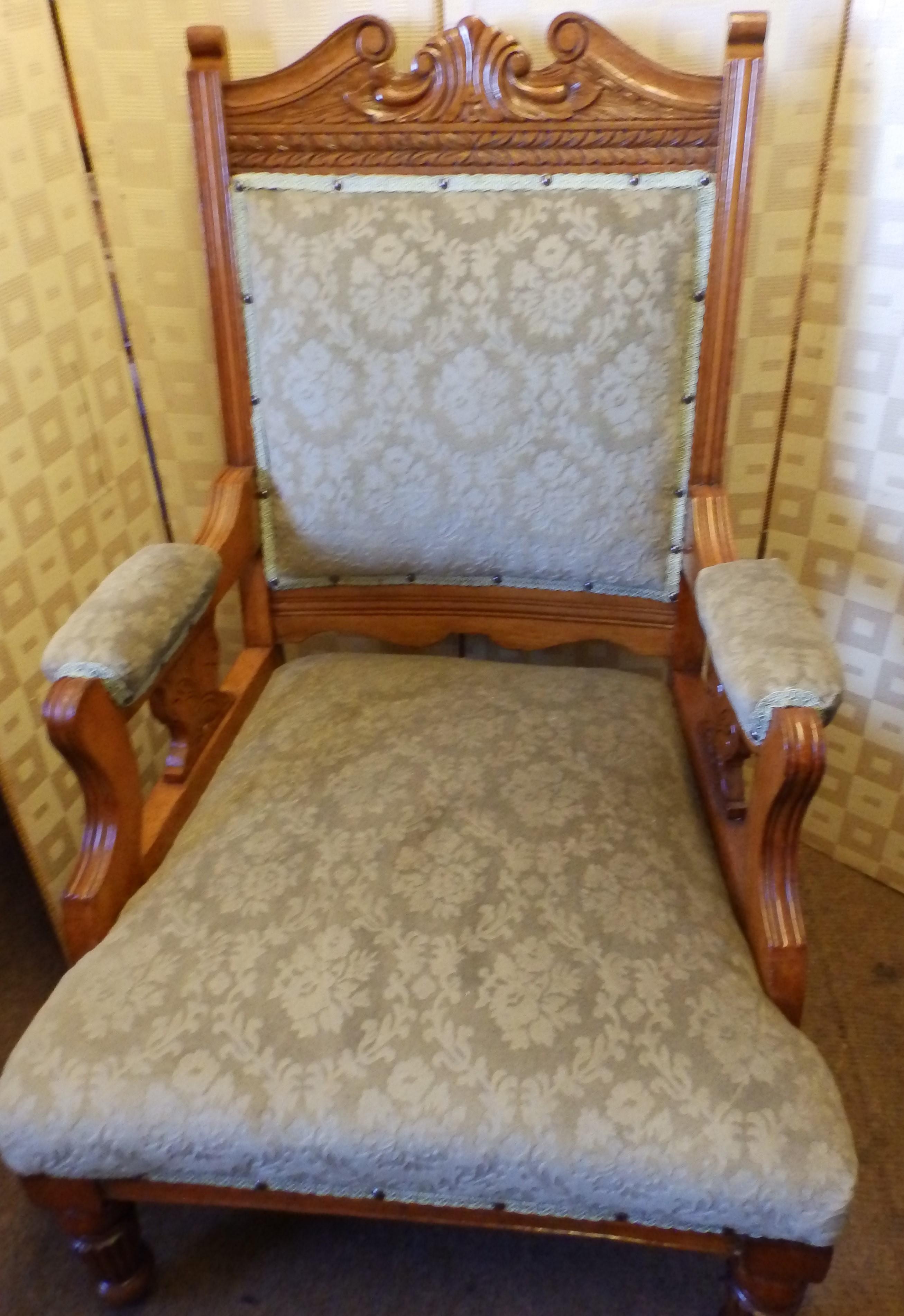 Edwardian arm chair