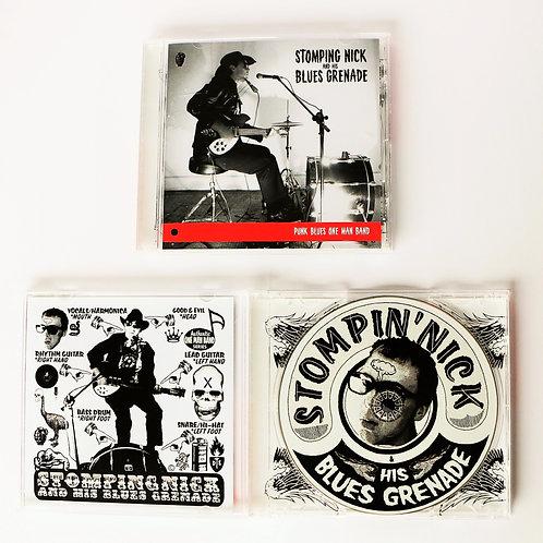 CD Punk Blues One Man Band