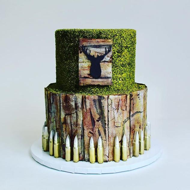 Hunter's Grooms Cake