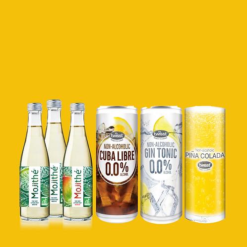 Succombez au plaisir de 6 cocktails sans alcool