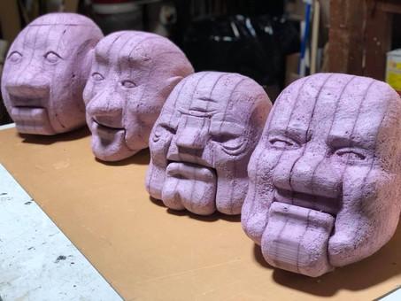 Puppets in Progress