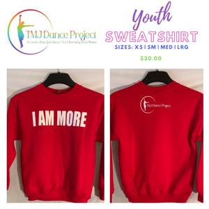 Youth Sweatshirt | Red (IAM)