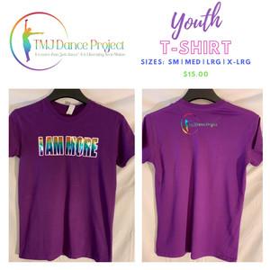 Youth T-Shirt | Purple              (Multi - IAM)