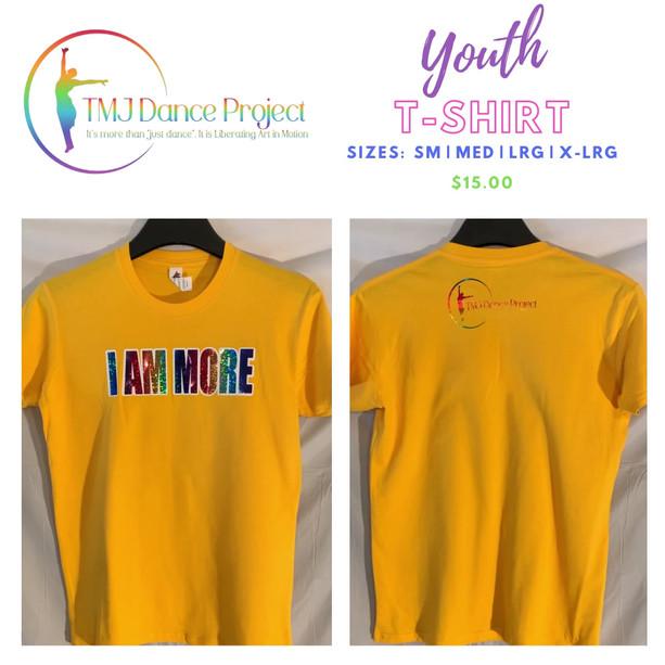 Youth T-Shirt | Yellow            (Multi IAM)